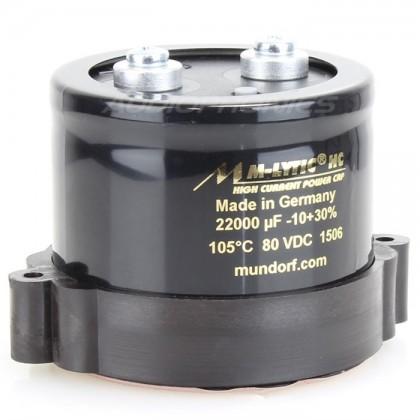Condensateur Mundorf M-Lytic HC 100V 22000µF
