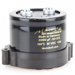 Condensateur Mundorf M-Lytic HC 80V 10000µF