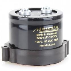 MUNDORF M-LYTIC HC Condensateur 80V 10000µF