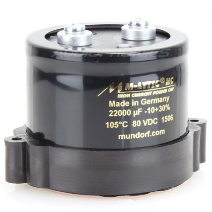 Condensateur Mundorf M-Lytic HC 80V 47000µF