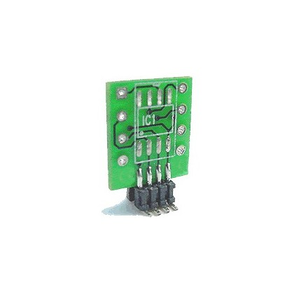 Adaptateur pour AOP 8pin 2xSOIC vers 1xSOIC ou 1xDIP8 vers 1xSOI