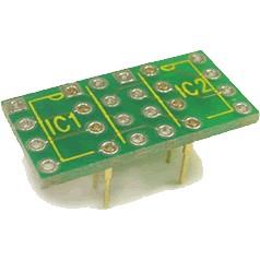Adaptateur pour AOP 8 Pins 2x DIP Simple vers 1x DIP Double