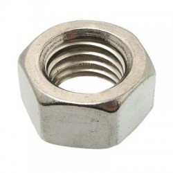 Inox Hex Nuts A2 DIN934 M2.5x2mm (x10)