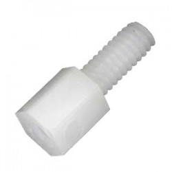 Nylon Spacers M2.5x5mm Male / Female (x10)