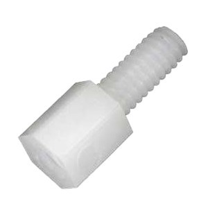 Nylon Spacers M2.5x5mm Male / Female (x10)
