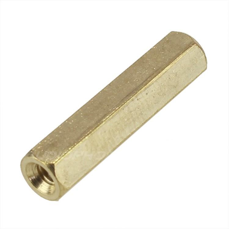 Brass Spacers Female / Female M2.5x20mm (x10)