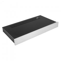 HIFI 2000 Boitier Slimline 1U 230mm - Facade 10mm Silver