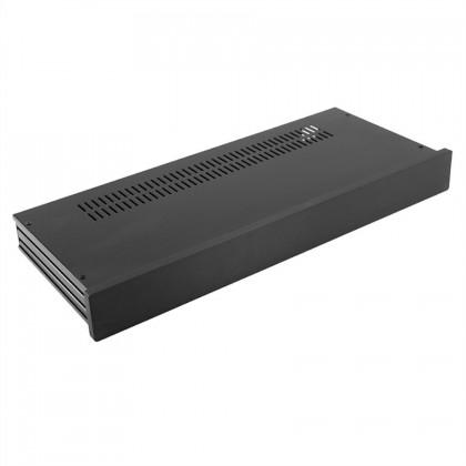 HIFI 2000 Boitier Slimline 1U 170mm - Facade 10mm Noir