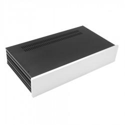 HIFI 2000 Boitier Slimline 2U 230mm - Facade 10mm Silver