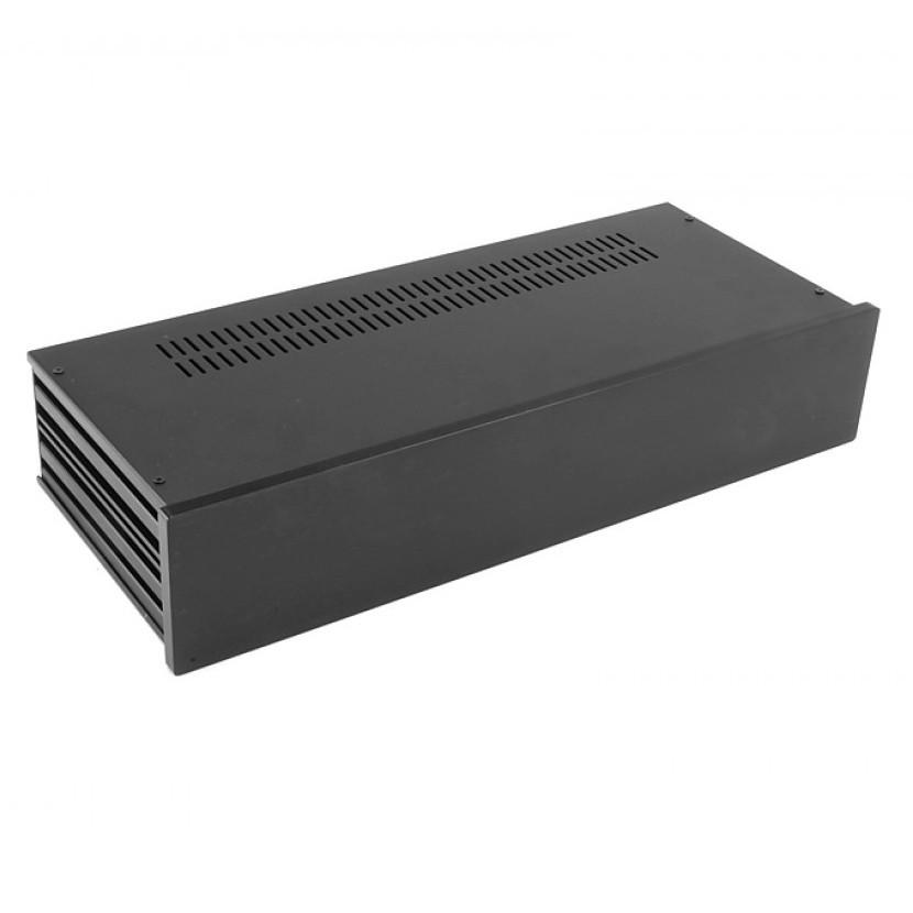 HIFI 2000 Boitier Slimline 2U 170mm - Facade 10mm Noir