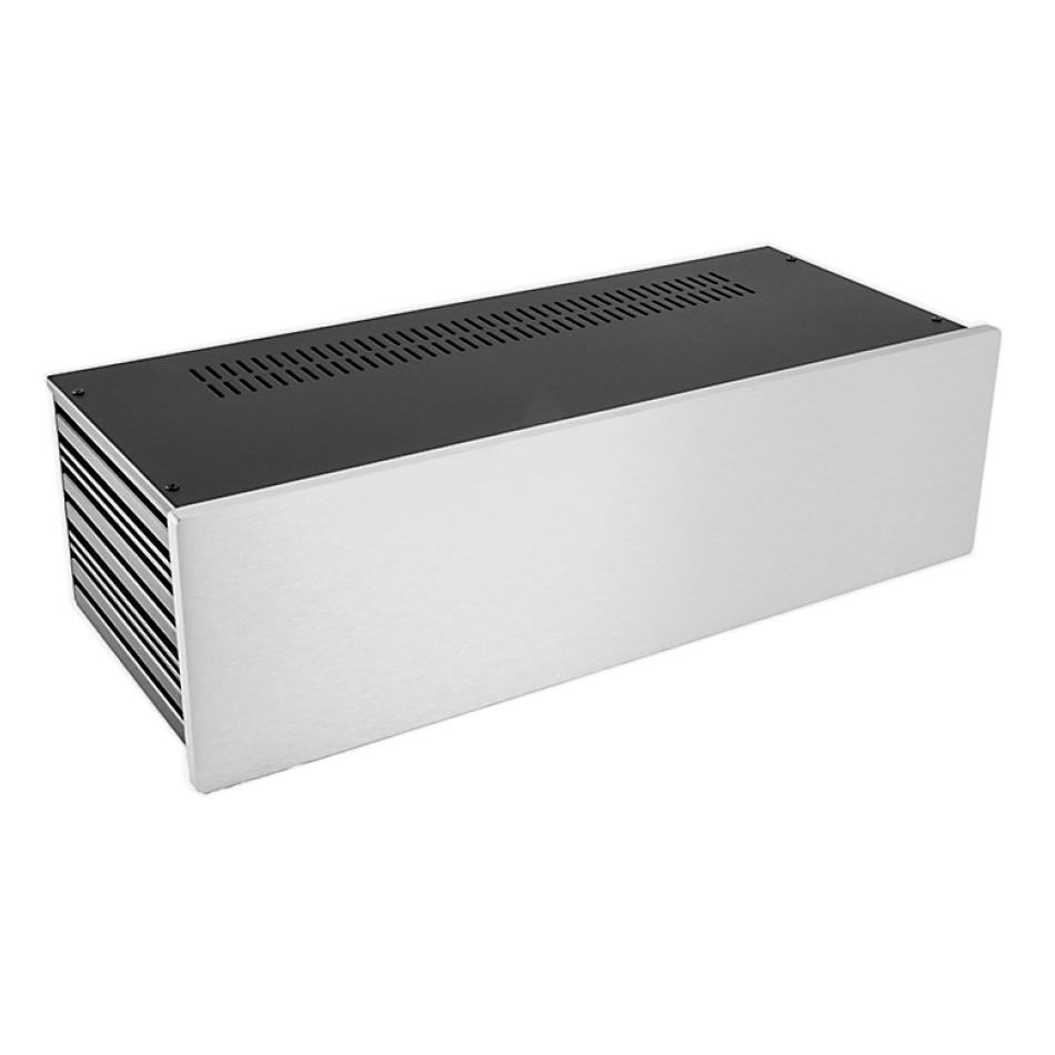 HIFI 2000 Case Slimline 3U 170mm - Front 10mm Silver