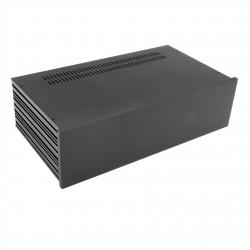 HIFI 2000 Boitier Slimline 3U 230mm - Facade 10mm Noir