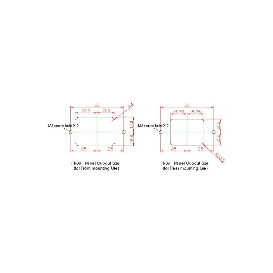 Furutech Fi 09 G Iec Copper Plated Pure Gold 24k Audiophonics Triax Key Cutter Fuse Box Inlet
