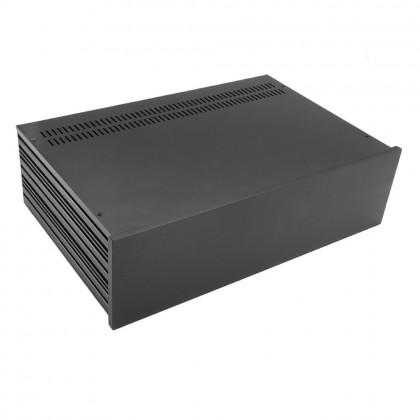 HIFI 2000 Boitier Slimline 3U 280mm - Facade 10mm Noir