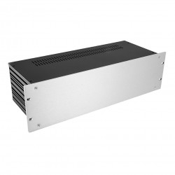 HIFI 2000 Case Slimline 3U 170mm - Front 4mm Silver