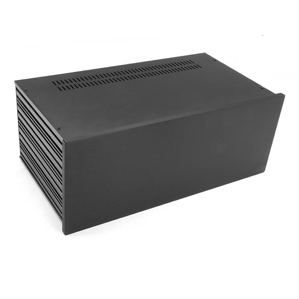 HIFI 2000 Boitier Slimline 4U 230mm - Facade 10mm Noir