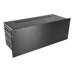 HIFI 2000 Case Slimline 4U 170mm - Front 4mm Black