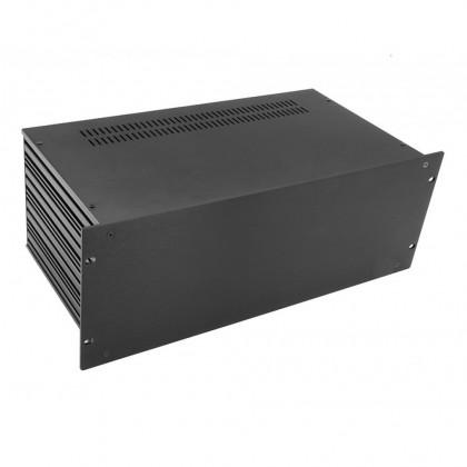 HIFI 2000 Boitier Slimline 4U 230mm - Facade 4mm Noir