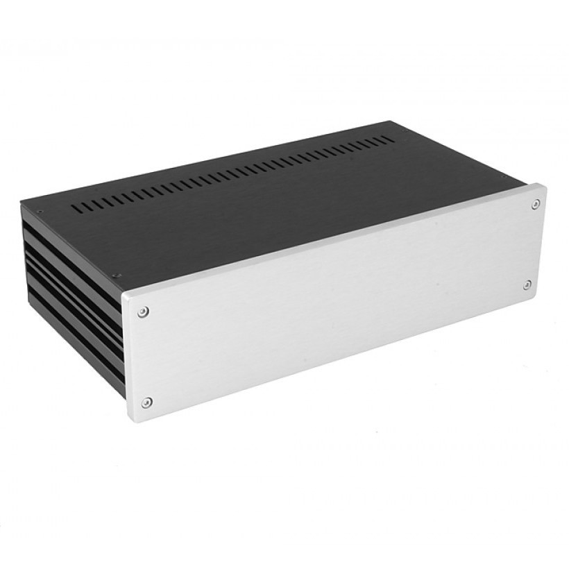 HIFI 2000 GALAXY GX387 Boîtier Aluminium 80x330x170mm Façade Avant 3mm