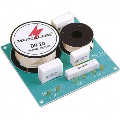 Monacor DN-20 Filtre enceinte 2 voies 8 ohms