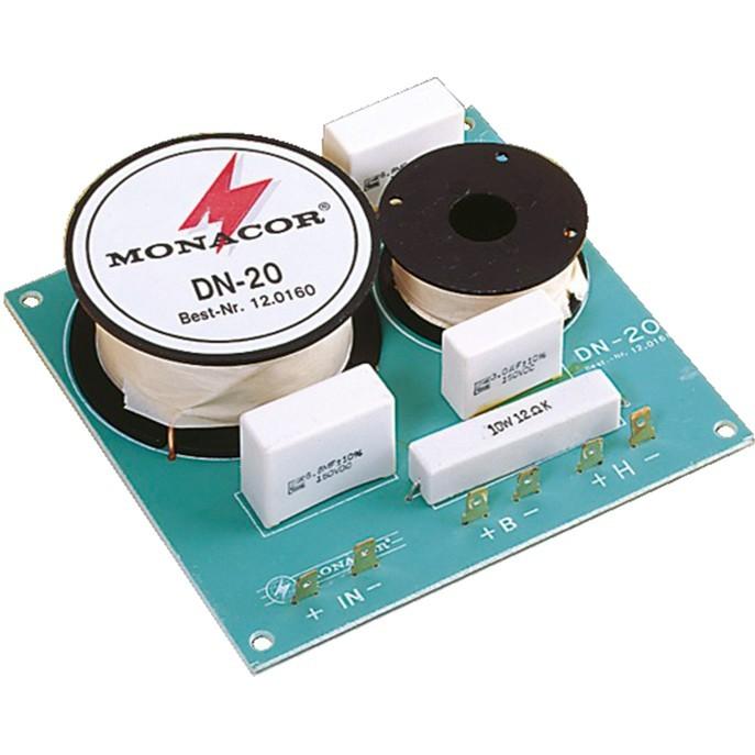 Monacor DN-20 2-way speaker filter 8 ohms