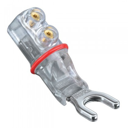 WBT-0681Ag Spade Plug Silver Nextgen Ø 7mm (La paire)