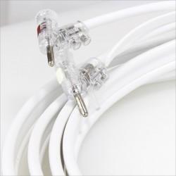 Kit Câble Hp Haute Fidélité ATOHM ZEF MAX & WBT Argent 3m (La paire)