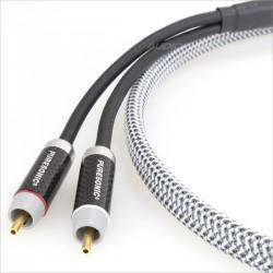 MOGAMI 2549 Câble de modulation Stéréo RCA Cuivre Tellurium Puresonic 1.2m