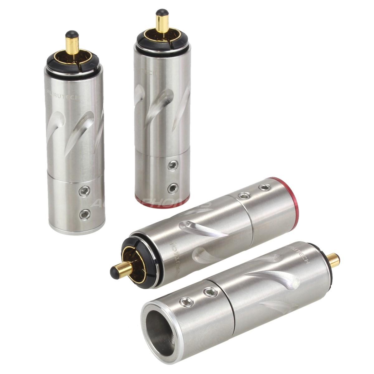 FURUTECH FT-111 (G) Connecteurs RCA plaqué Or Ø 10mm (Set x4)