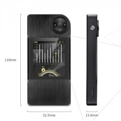 Shanling M2 Black DAP Baladeur Haute fidélité DAC CS4398 32bit/192kHz DSD