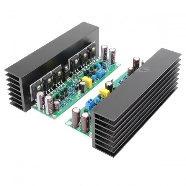 LJ L15 MOSFET Amplifier boards 150W 8 ohm Mono (Pair)