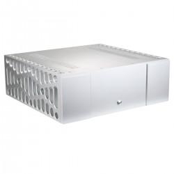 Boitier DIY 100% Aluminium ventilé avec dissipateurs 430x410x150mm
