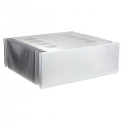 Boîtier DIY Ventilé avec Dissipateurs 100% Aluminum 432x390x150mm Argent
