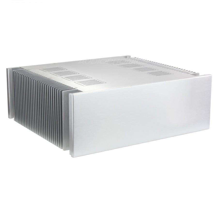 100 Aluminium Diy Box Case For Hi Fi Audio Amplifier Basic 432x370x150mm