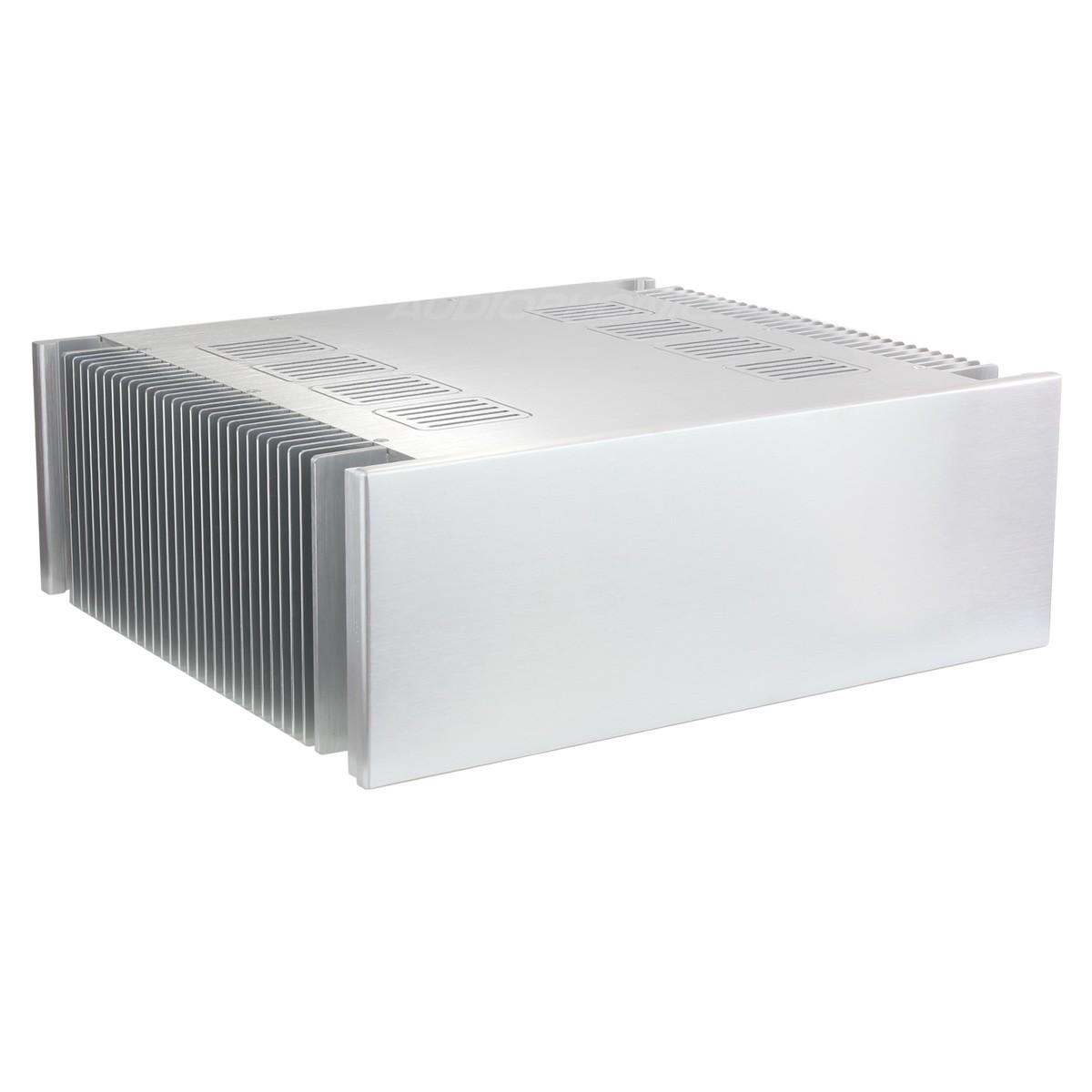 Boitier DIY 100% Aluminium ventilé avec dissipateurs 432x390x150mm