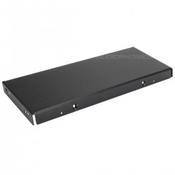 HIFI 2000 Side panel for 3U 300mm Chassis Black