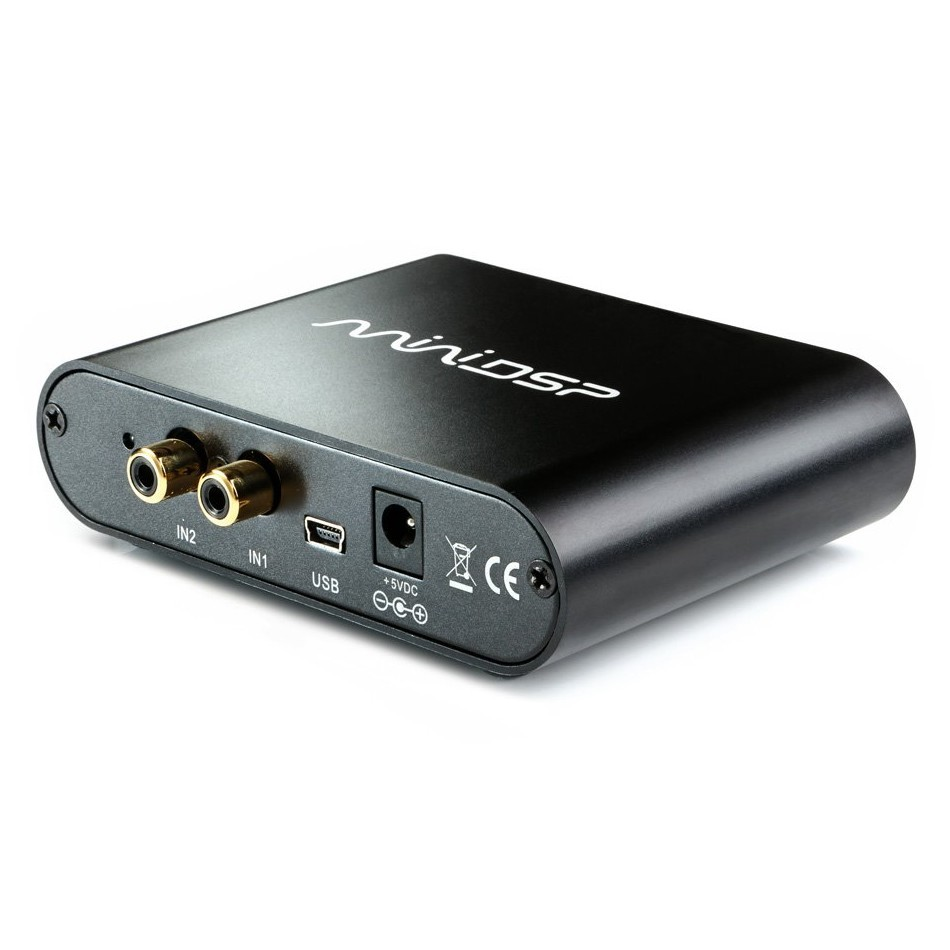 MiniDSP BOX 2x4 Audio Processor USB 2 to 4 channels Asymmetric