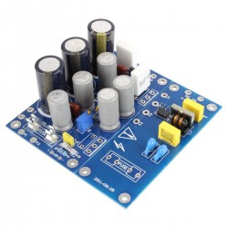 Linear Power Supply Board with Heatsinks 12V 6.25A 100W