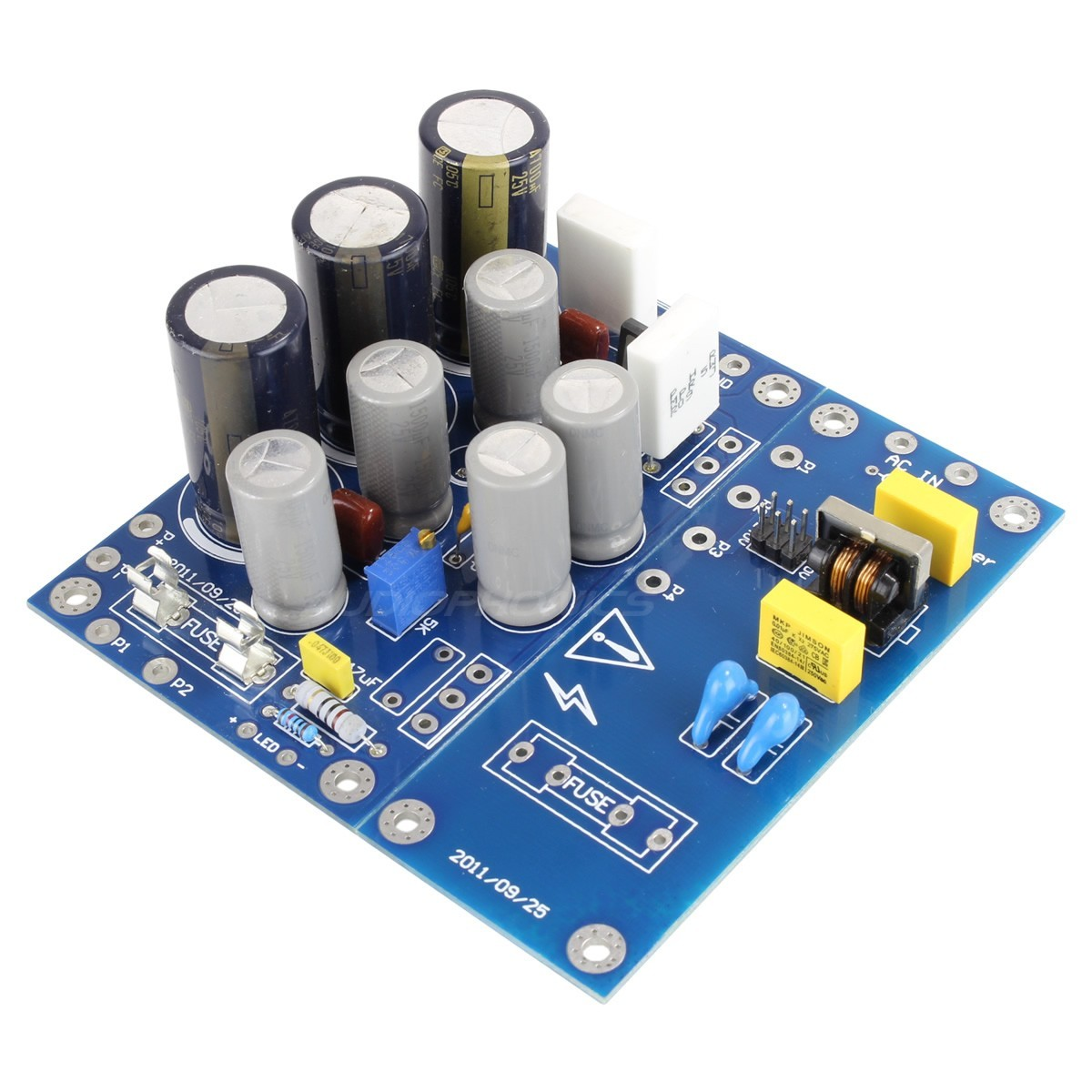 Linear Power Supply Board with Heatsinks 3- 16V 100W