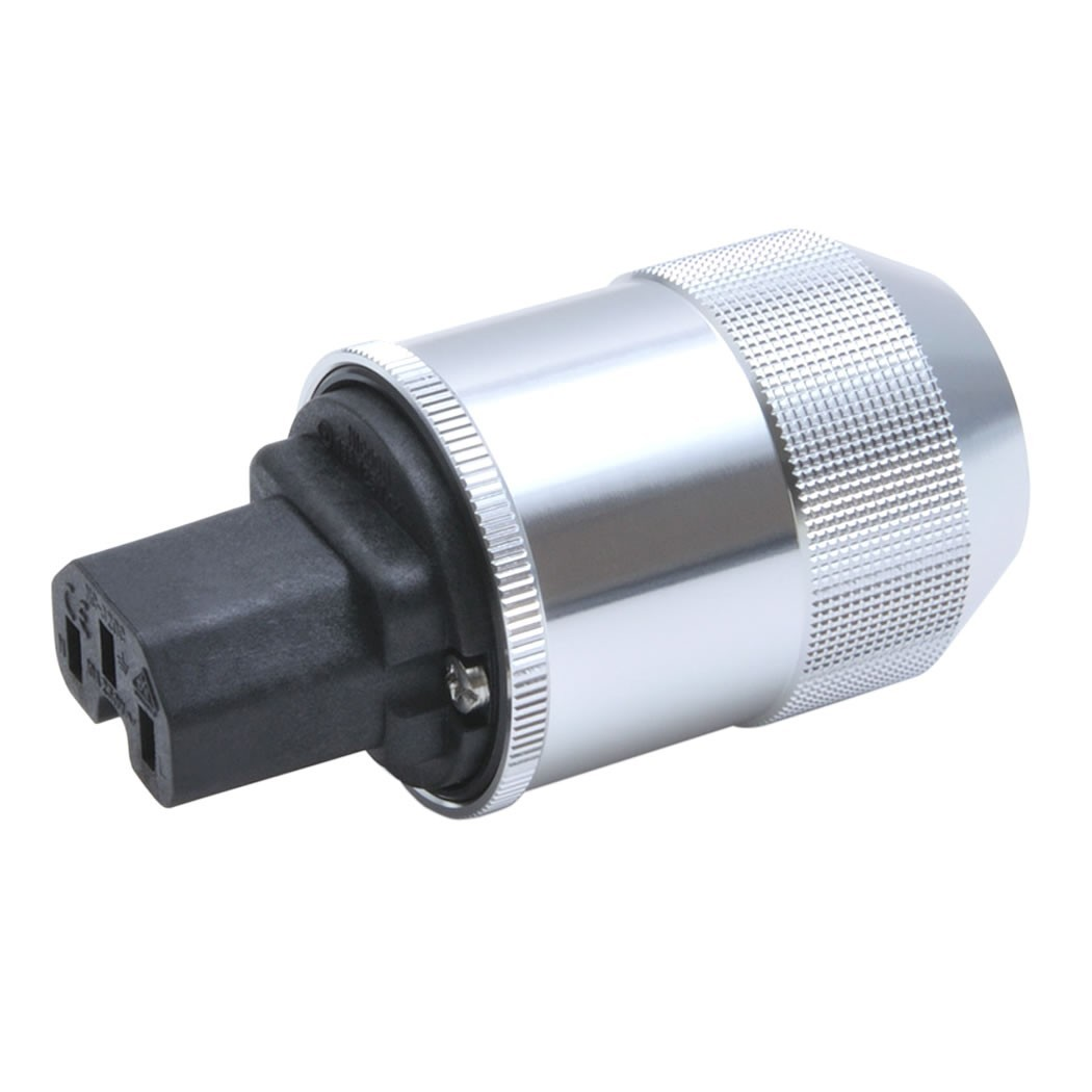OYAIDE F1 IEC Plug Beryllium Copper Platinium / Palladium plated Ø 17mm