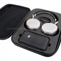 Pack KINGSOUND M-03 Portable Amplifier & KS-H4 Electrostatic Headphone Silver
