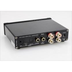 SMSL Q5 PRO Amplificateur STA350BW 2x 50W AKM AK5358AET SA9027 24bit 96kHz Black