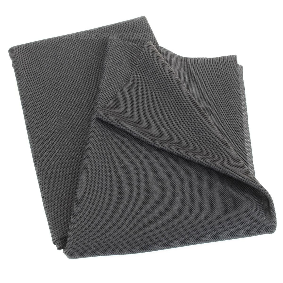 SONOTEX Tissu Acoustique pour Haut-Parleurs Noir
