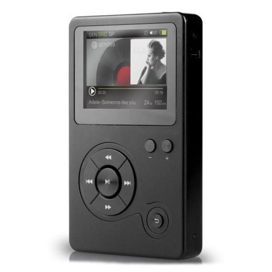 HIDIZS AP100 DAP Digital HiFi Music Player DAC 24bit / 192kHz DSD Black