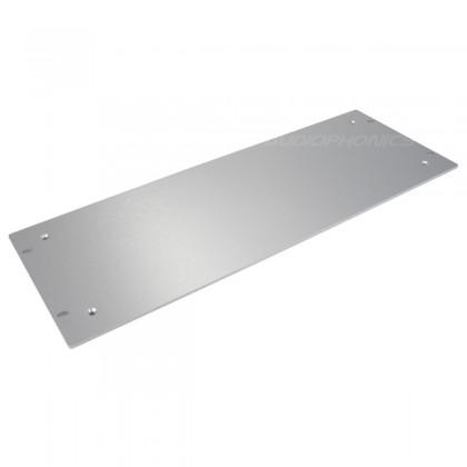 HIFI 2000 Aluminium front panel 4mm 4U Silver