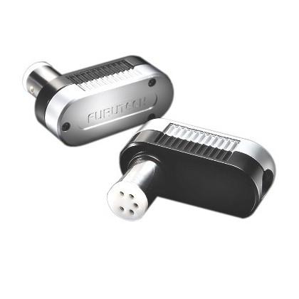 Furutech FP-DIN (L) Phono DIN Connector angled 5 poles Ø 10mm
