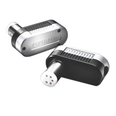 FURUTECH FP-DIN (L) Phono DIN Connector angled 5 poles Ø10mm
