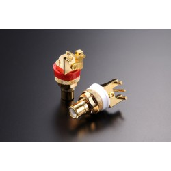 FURUTECH FP-908 (G) Cinch RCA Gold plated Pure Copper (Pair)