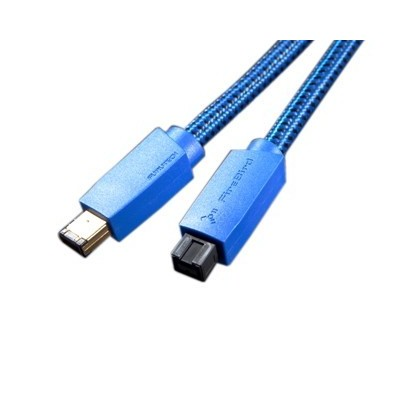 Furutech FireBird 96 FireWire cable IEEE 1394 9 to 6 pin 1.2m
