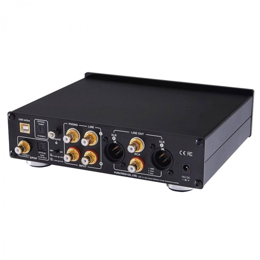FURUTECH ADL STRATOS DAC / ADC Phono preamp MM/MC Balanced Headphone  Amplifier DSD